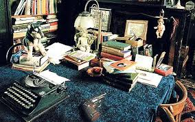 the best authors don t need a room a view telegraph beryl bainbridge s writing room