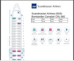 Canadair Regional Jet 900 Seating Chart Sas Crj 900 Seat 2d Flyertalk Forums
