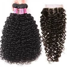 Curly Hair Length Chart Unice Hair 3 Bundles Brazilian Jerry Curly Hair Weave With Closure Icenu Series
