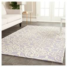 4 6 area rugs elegant nortin area rug lavender ivory 4 x 6 safavieh purple