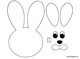 Cute Rabbit And Easter Egg Coloring Page Pages Disney Free Printable