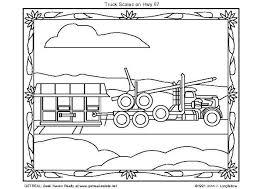 Kleurplaat Amerikaanse Truck Afb 5754 Images
