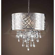 royal heidi 4 light chrome crystal chandelier 16 wx20 h xtkbcm030sc4x