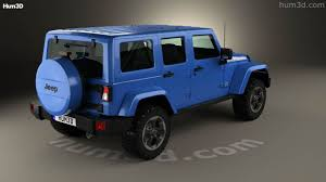 360 view of Jeep Wrangler Unlimited Polar Edition 2014 3D model ...