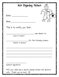 Absence Note.pdf | Education | Pinterest | Pdf