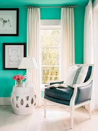 Teal And Green Living Room Rooms Viewer Hgtv