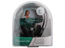 <b>Гарнитура Logitech Stereo Headset</b> H390 USB 981-000406 ...