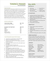 truck driver resume template in pdf truck driver resume