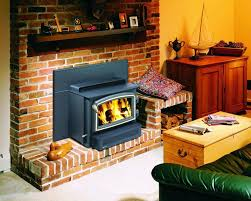 image of heatilator wood burning fireplace insert