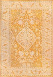 antique oushak rug from turkey 49844 nazmiyal