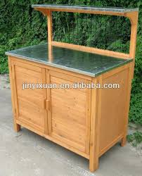 outdoor potting bench stylish wood potting bench garden outdoor work bench table planting potting benches with