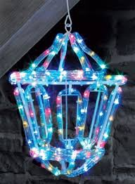 multi colour rope light lantern 144 led lights indoor or outdoor