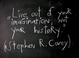 Historical Quotes 97 Amazing Live Out Of Your Imagination Not Your History Stephen R Covey