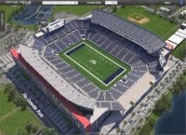 College Park Center Seating Chart Stadium Camping World Kickoff