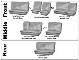 vw bus seat cover upholstery options