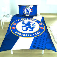 electric blue duvet cover official football club sets more covers queen pottery barn full size