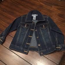 Girls Toddler Blue Jean Jacket