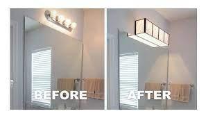 Install A Bathroom Light Yourself Louie Lighting Blog Lighting Makeover Diy Bathroom Vanity Bathroom Makeover