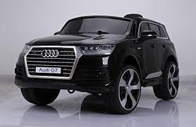 black audi. Simple Audi DTI DIRECT LICENSED AUDI Q7 RIDE ON CAR WITH REMOTE CONTROL BLACK For Black Audi