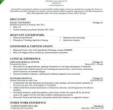New Grad Nursing Resume Beauteous New Graduate Rn Resume Sample Nursing Resume For New Graduate Lovely