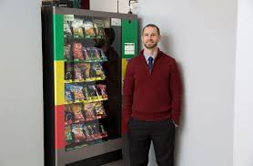 Healthy Choice Vending Machines Beauteous Delayed Delivery At Vending Machines Prompts Healthier Snack Choices