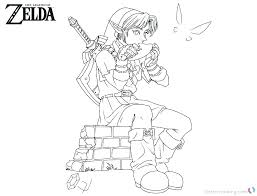 Zelda Coloring Pages Coloring Pages 5 Zelda Coloring Pages Online
