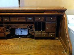 riverside furniture roll top desk bid riverside furniture barrel roll top desk