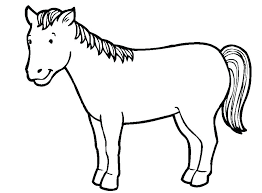 Coloring Pages Of Horses Horses Coloring Pages Horse Drawing Games