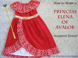 How To Make A Dress Pattern Adorable How To Sew A Princess Elena Of Avalor Inspired Dress Tutorial