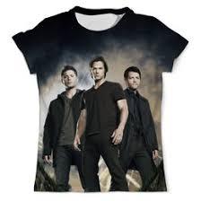 """Мужские <b>футболки</b> c стильными принтами """"supernatural"""" - <b>Printio</b>"""