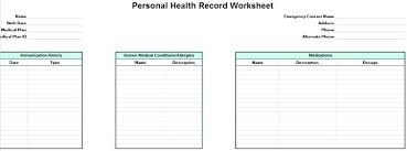 Personal Timeline Template Download Medical Record Template Excel Download Sample Certificate