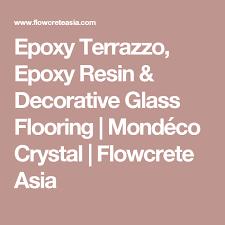 Flowcrete Color Chart Epoxy Terrazzo Epoxy Resin Decorative Glass Flooring