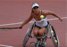 Sonja Peters - Athlete Profile - Wheelchair Tennis
