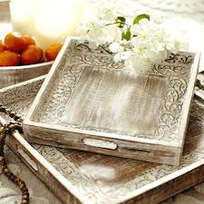 Decorative Serving Trays With Handles metal serving tray with handles abreudme 77