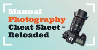 Manual Camera Settings Chart How To Shoot In Manual Mode Cheat Sheet For Beginners