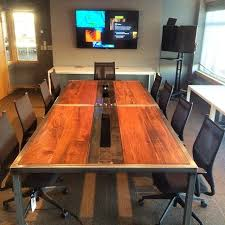urban industrial furniture. Custom Made Modern Industrial Conference Tables For Urban Furniture