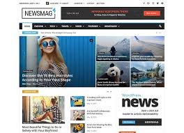 The Changing Times Newspaper Template 25 Best Wordpress News Magazine Themes 2018