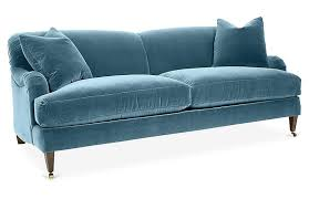 hayes sofa colonial blue crypton