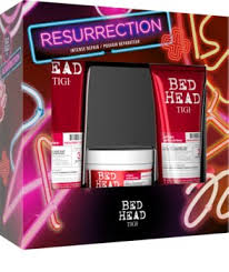 tigi bed head resurrection kit gift set iv for damaged and fragile hair