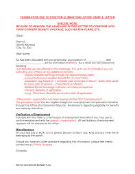 Letter Termination Stationery Templates For Word Free