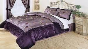 purple velvet bedding comforter set ideas decorate pretty bed sets