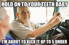 Elderly Driver memes | quickmeme via Relatably.com