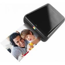 Купить Мобильный <b>принтер Polaroid ZIP Black</b> POLMP01BE (A8 ...