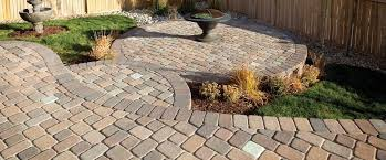 simple paver patio.  Paver Decor Pavestone Patio Ideas Plaza Stone Rectangle And Square Paver  With Steps For Simple