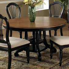 round dining table with leaf extension. Dining Table Leaf Round Two Tone Drop Extension With