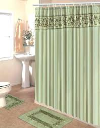 shower curtains with matching rugs bathroom sets curtain and mat