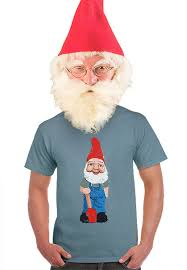 mens garden gnome t shirt gifts for