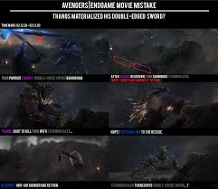 <b>Avengers Endgame</b> - <b>Thanos</b> Materialized His <b>Double</b>-<b>Edged</b> Sword ...