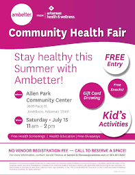 this is an opportunity for community members to speak with health care professionals health insurance experts and other community service providers