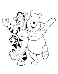 Small Picture Winnie The Pooh And Friends Coloring Pages GetColoringPagescom
